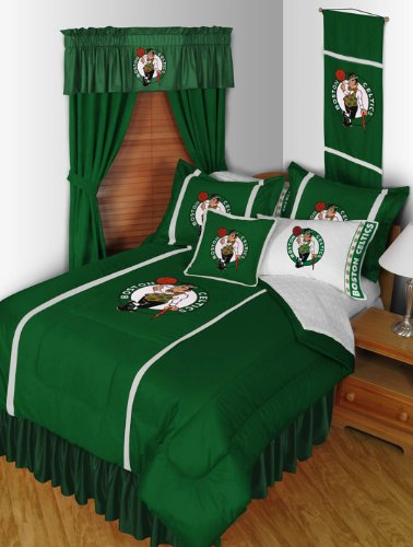NBA Boston Celtics Sidelines Comforter (Boston Celtics Garden)