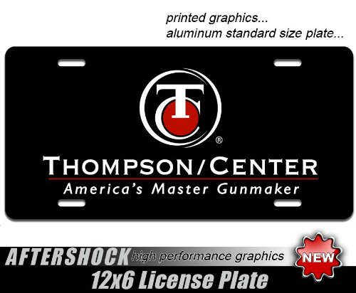 - Thompson Center License Plate Firearms Rifle Muzzleloader