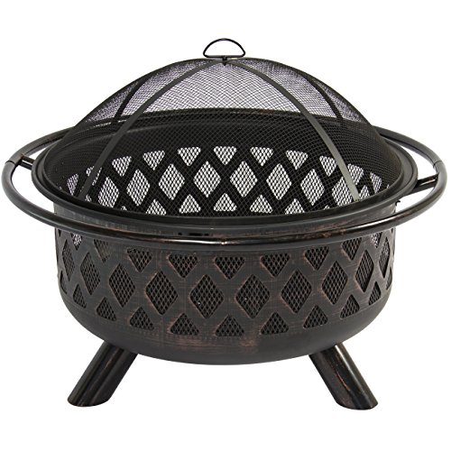 Best-Choice-Products-Bronze-Fire-Bowl-Fire-Pit-Patio-Backyard-Outdoor-Garden-Stove-Firepit-36