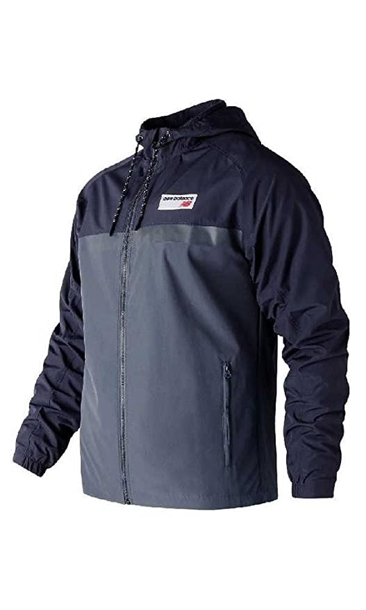 New Balance Athletics 78 Jacket Herren Windjacke Neuheit marineblau (Dark  Cyclone) (XL): Amazon.de: Bekleidung