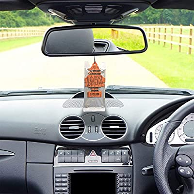 LITTLE TREES Car Air Freshener | Hanging Paper Tree for Home or Car | Bourbon | 12 Pack: Automotive