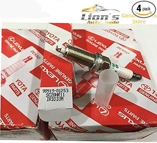Denso Iridium TT Bujía-IXEH20TT-Enchufe único