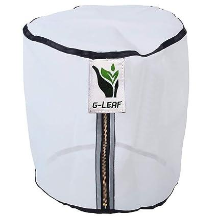 Amazon.com: g-leaf bolsa de cierre, L: Jardín y Exteriores