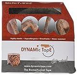 Dynamic Tape, 2'' X 34 yds. (5CM X 31M), Black Tattoo, Single Bulk Roll
