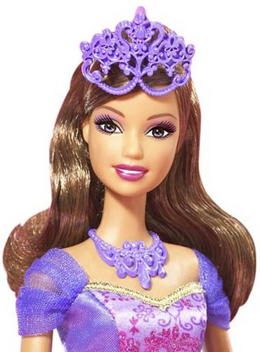 Barbie und die 3 Musketiere  Viveca mit Tiara und Halskette