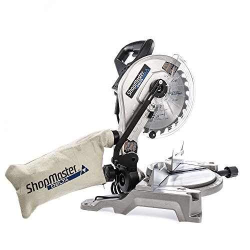 Delta S26-260L Shopmaster 10 In. Miter Saw with Laser, Sliver by Delta (Image #6)