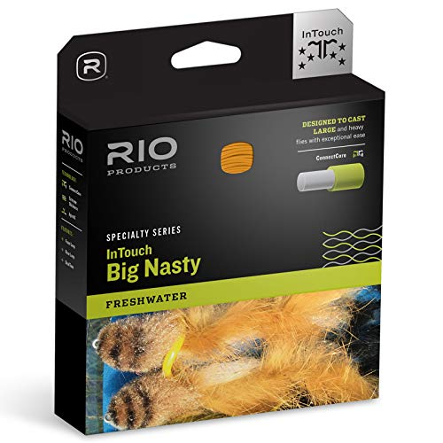 RIO InTouch Big Nasty Fly Line Midnight Special/Lumalux, WF6F