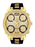 Super Techno Mens Diamond Five Time Zone Watch GM5-50Y