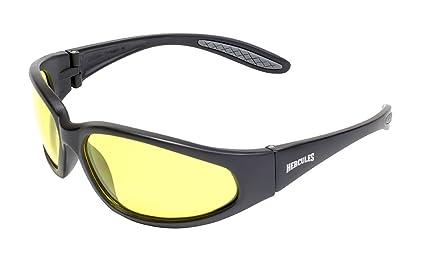 Choppers Sunglasses Yellow Night Lenses Riding Biker Motorbike Motorcycle UV400