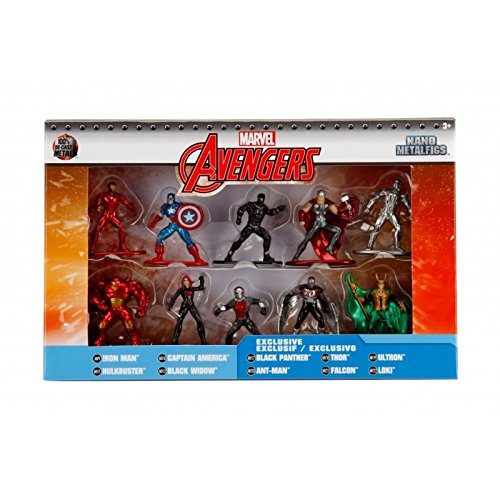 Marvel Nano Metalfigs Die-Cast Mini-Figures 10-Pack