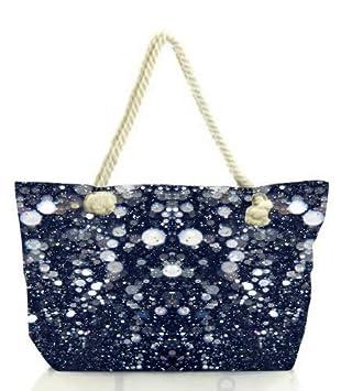 Snoogg Glitter Night Women Anchor Messenger Handbag Shoulder Bag ...