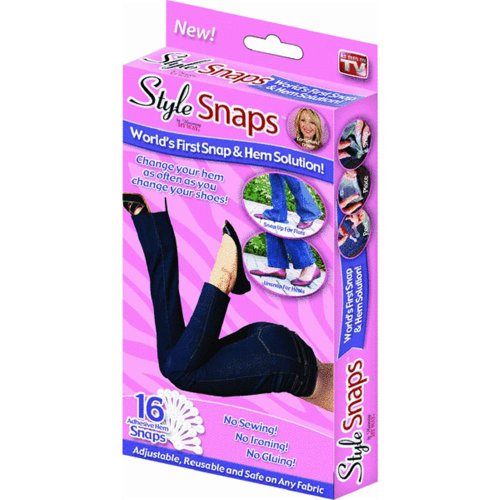 Style Snaps Hemming Snaps - As Seen On TV