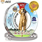 AESpet Flea and Tick Collar for Dogs - Prevention Essential Oil for Pets/Control 8 Month Protection Feature