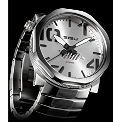 SISU Bravado Automatic A2 Men's Watch Silver Dial