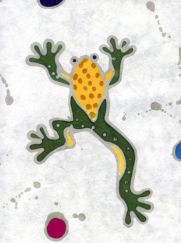 Rainforest Batiks (Thai Batik Paper with Rainforest Frogs 23