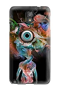 JessicaBMcrae Case Cover Protector Specially Made For Galaxy Note 3 Psychedelic