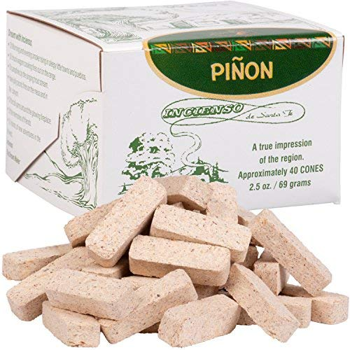 Pinon Incense Box with 40 Bricks