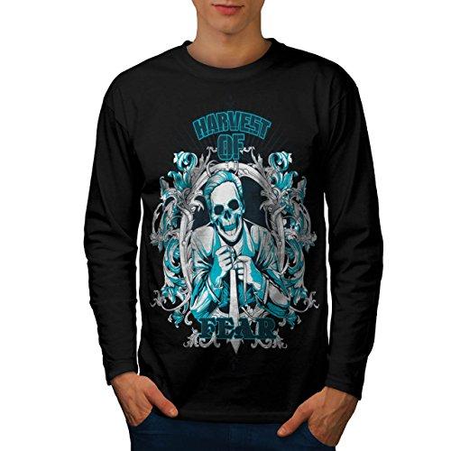 Harvest Of Fear Boss Men NEW XL Long Sleeve T-shirt | Wellcoda (Mob Boss Tie)