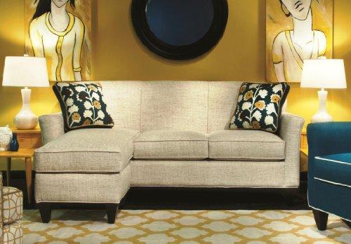 Chelsea Home Furniture Yvette Sofa Chaise, Nostalgia Marshmallow