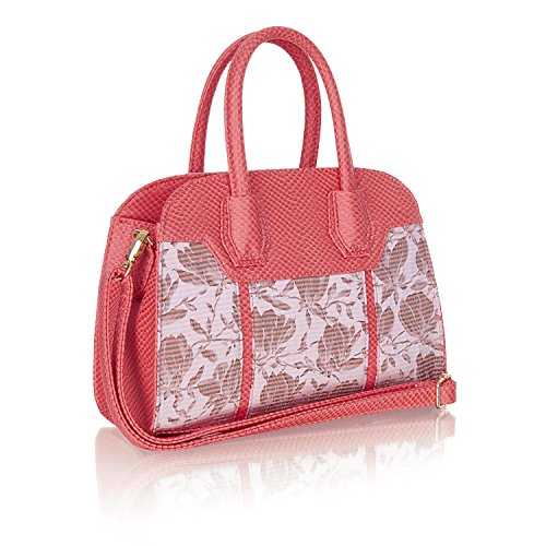 Bag Bar Cassandra Cancun Women's Matching Shoes Shoo amp; Coral Ruby w8tOqxSHn
