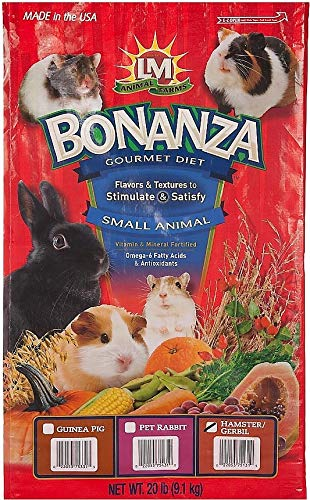 LM Animal Farms Bonanza Bounti-Buffet Superior Gourmet Food for Hamsters & Gerbils (20 lbs.)