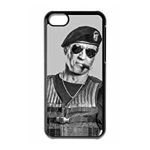 Popular And Durable Designed TPU Case with The Expendables iPhone 5c Cell Phone Case Black