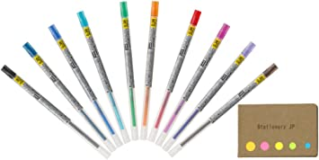 Uni-Ball Style Fit Pen Refills CHOOSE HOW MANY FROM 16 COLORS 0.28 0.38 0.5mm