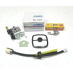 OEM Echo SERVICE KIT for SRM-230 SRM-230S Carburetor Carb Air Filter Fuel Kit SP by The ROP Shop