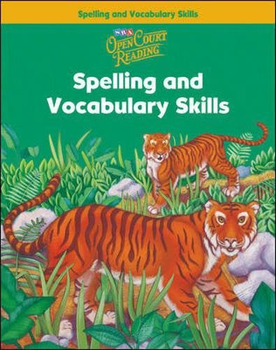 Open Court Reading, Spelling and Vocabulary Skills: Level 2