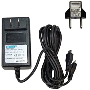 Amazon Com Hqrp 3a Battery Charger Dual Microusb Ac