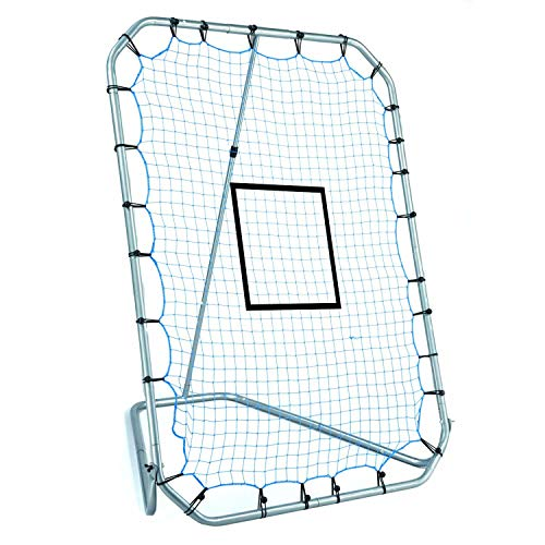 Franklin Sports Baseball Rebounder and Fielding Trainer - All-Angle Pitch Return and Fielding Net - Perfect Baseball Training Aid - 72 x 52 Inches - Aids Fielding Baseball
