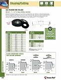Amana Tool 61618 Insert Shaper Cutter 120mm D x 16mm Height Aluminum Rub Collar