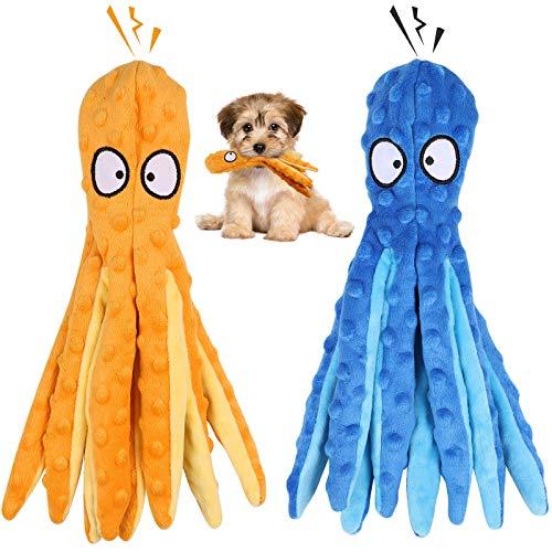 G.C 2 Stück Hundespielzeug Große Hunde, Hund Kauspielzeug Quietschspielzeug Plüschspielzeug, intelligenz unzerstörbares…