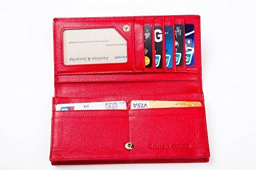 Genuine Leather Wallet Vintage Bifold
