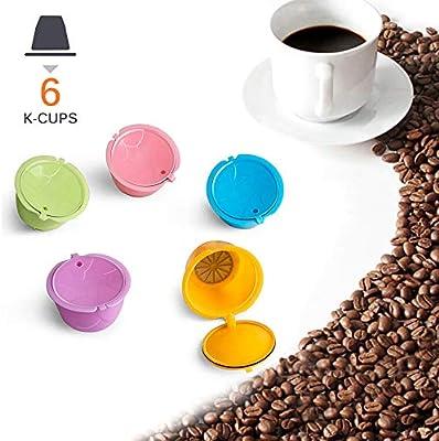 Filtro de café reutilizable, cafeteras, cápsula de café recargable ...