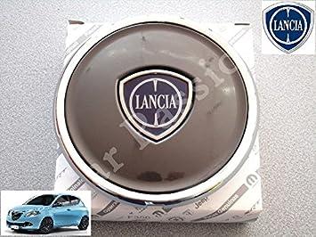 Lancia - 1 Tapacubos para Lancia Ypsilon Y a partir de 2011 con escudo original - Tapacubos en material de aleación, color antracita: Amazon.es: Coche y ...