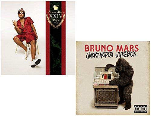 24k Magic - Unorthodox Jukebox - Bruno Mars 2 CD Album Bundling (Uptown Records)