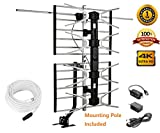 Best Attic Tv Antennas - McDuory Digital HDTV Outdoor Amplified Antenna - 150 Review