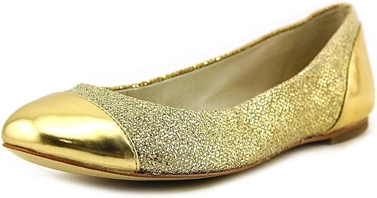 Michael Kors Shala Ballet Gold Leather