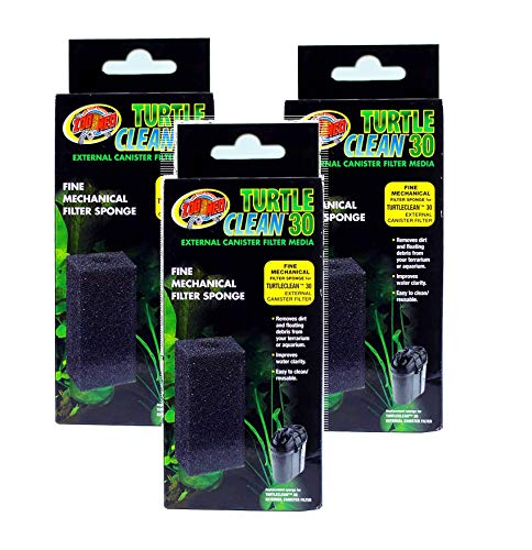 (Zoo Med Turtle Clean 30 External Canister Filter Media (3)