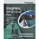 Inkpress White Gloss Inkjet Film 24'' X 50' Roll