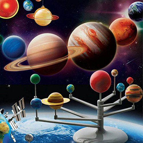 Ducklingup Solar System Planetarium Model Kit Astronomy Science Project DIY Kids Toy Child