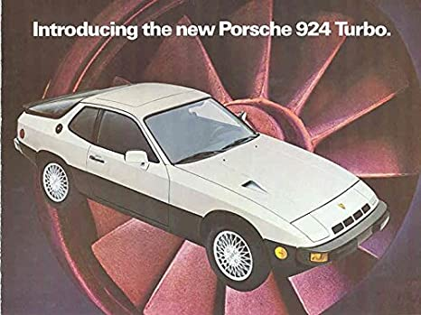 Amazon.com: 1980 Porsche 924 Turbo Mailer Sales Brochure: Entertainment Collectibles