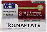 Product review for [3 PACK] Family Care Tolnaftate Antifungal Cream 1% Compare to Tinactin- 1 fl.oz