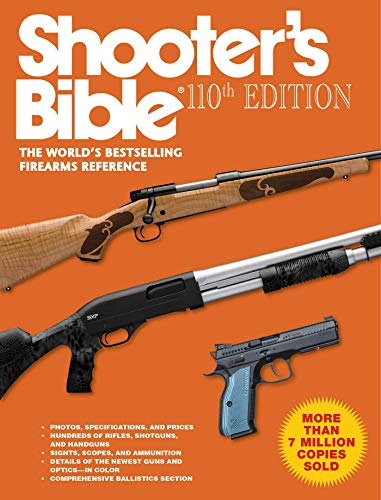 Shooter's Bible, 110th Edition (Best Shooting Handgun 2019)