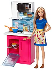 Barbie Kitchen & Doll