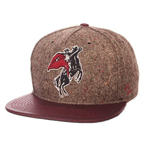 (NCAA Texas Tech Red Raiders Men's Legend Heritage Collection Hat, Adjustable, Tweed)