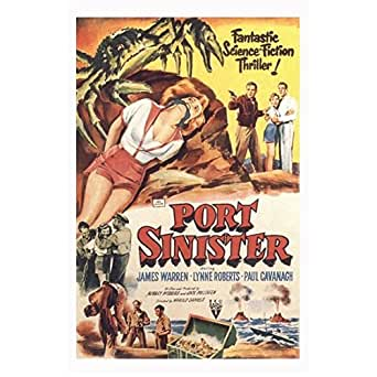 Port Sinister 11 Inch x 17 Inch Lithograph w/White Border ...