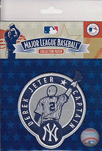 Derek Jeter New York Yankees Captain #2 Retirement MLB Licensed Collector Patch