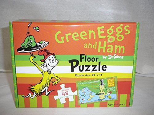 Green Eggs and Ham by Dr. Seuss Floor Puzzle, 27
